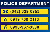 Sariaya Police Hotline