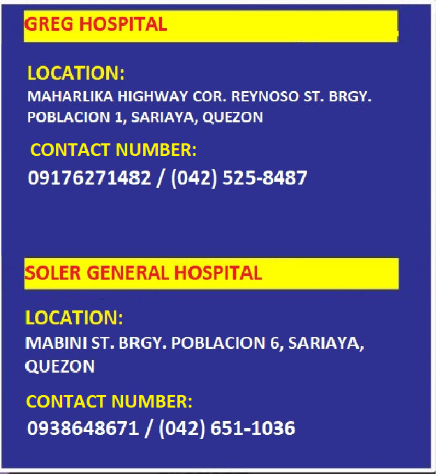 Sariaya Hospital