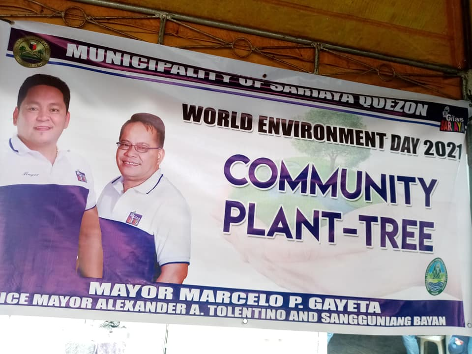 MENRO SARIAYA – COMMUNITY PLANT TREE